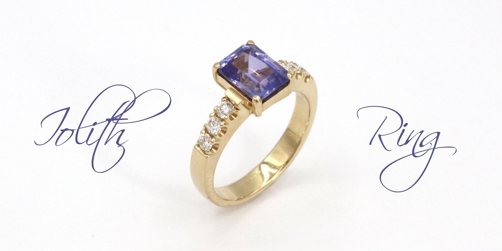 Iolit Ring Goldschmiede Mace